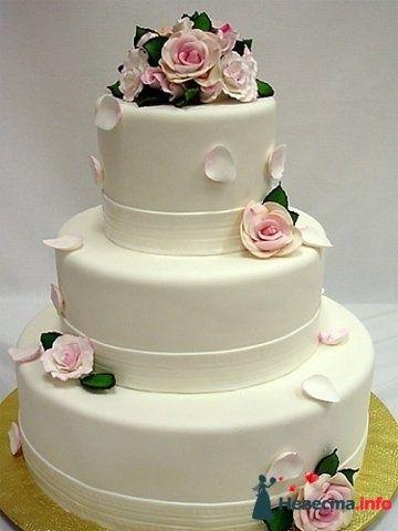 Фото 128224 в коллекции Свадебные торты