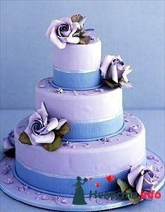 Фото 128228 в коллекции Свадебные торты