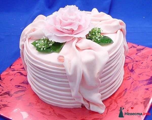 Фото 128229 в коллекции Свадебные торты