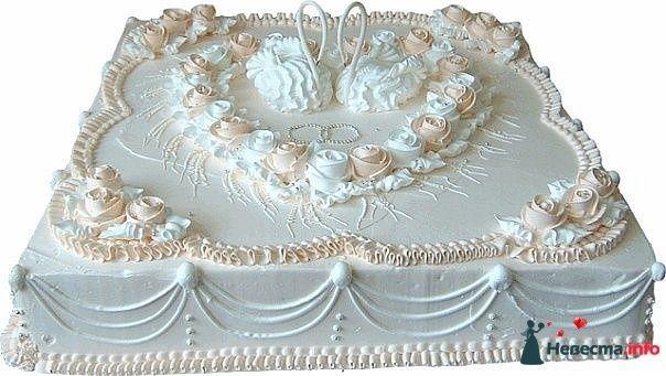 """Фото 128244 в коллекции Свадебные торты - """"Мир Любви"""" - студия свадебных услуг"""