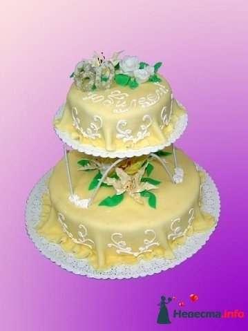 """Фото 128246 в коллекции Свадебные торты - """"Мир Любви"""" - студия свадебных услуг"""