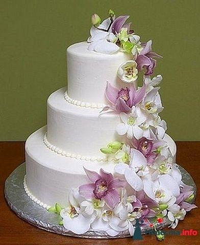 """Фото 128247 в коллекции Свадебные торты - """"Мир Любви"""" - студия свадебных услуг"""