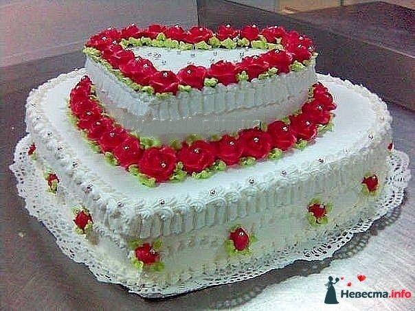 """Фото 128255 в коллекции Свадебные торты - """"Мир Любви"""" - студия свадебных услуг"""