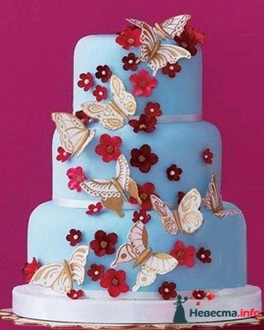 """Фото 128263 в коллекции Свадебные торты - """"Мир Любви"""" - студия свадебных услуг"""