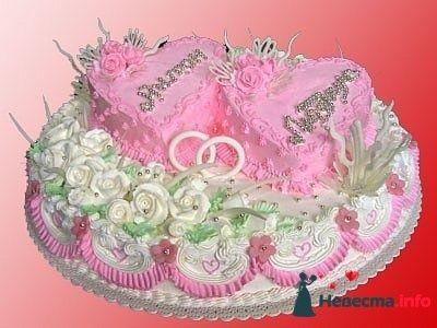 Фото 128272 в коллекции Свадебные торты