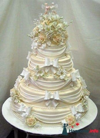 """Фото 128278 в коллекции Свадебные торты - """"Мир Любви"""" - студия свадебных услуг"""