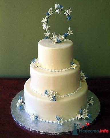 """Фото 128281 в коллекции Свадебные торты - """"Мир Любви"""" - студия свадебных услуг"""