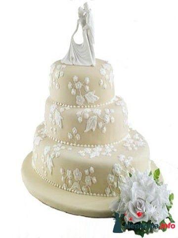 """Фото 128284 в коллекции Свадебные торты - """"Мир Любви"""" - студия свадебных услуг"""