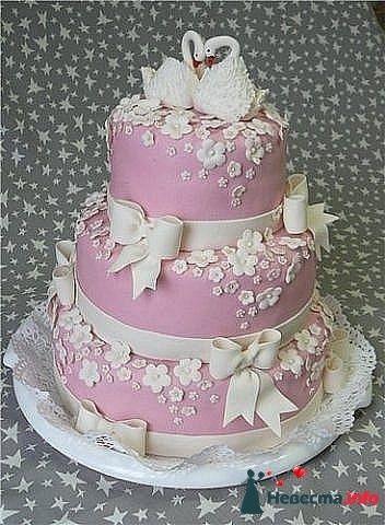 """Фото 128298 в коллекции Свадебные торты - """"Мир Любви"""" - студия свадебных услуг"""