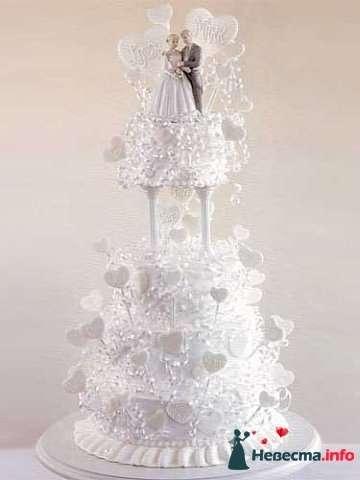 """Фото 128302 в коллекции Свадебные торты - """"Мир Любви"""" - студия свадебных услуг"""