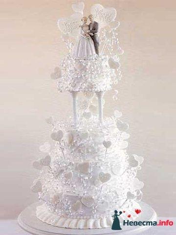 Фото 128302 в коллекции Свадебные торты