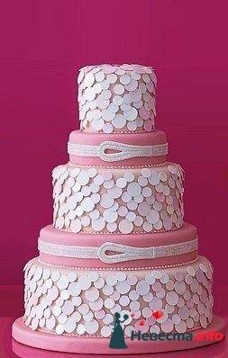 """Фото 128303 в коллекции Свадебные торты - """"Мир Любви"""" - студия свадебных услуг"""