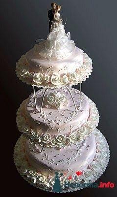 """Фото 128308 в коллекции Свадебные торты - """"Мир Любви"""" - студия свадебных услуг"""