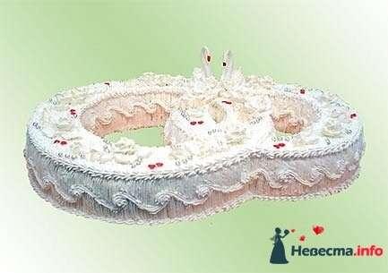 """Фото 128315 в коллекции Свадебные торты - """"Мир Любви"""" - студия свадебных услуг"""