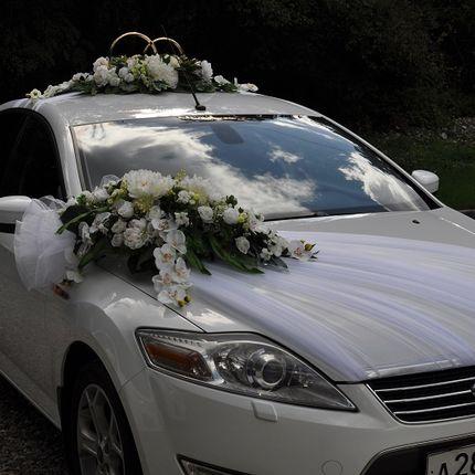 Прокат украшений на свадебные машины