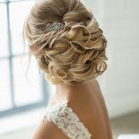 Свадебная прическа и макияж от стилистов Эль Стиль