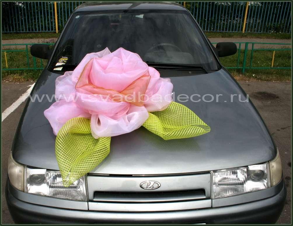 Как сделать своими руками цветы на машину для свадьбы