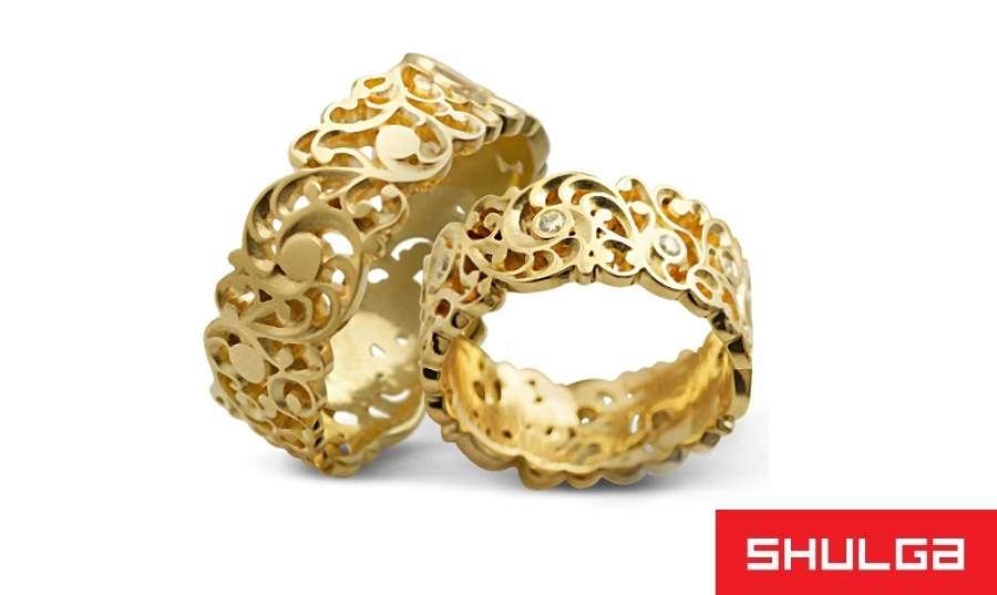 Обручальные кольца АНЖЕ - фото 1276687 SHULGA - ювелирная компания