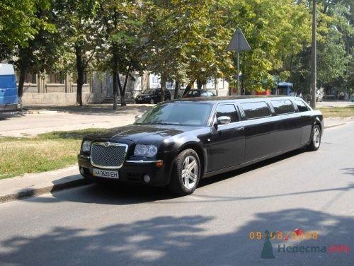 Крайслер 300С Черный - фото 12361 Лимузин Престиж - пассажирские перевозки