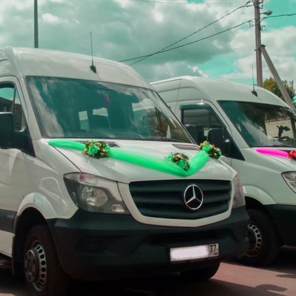 Микроавтобус Mercedes-Benz Sprinter в аренду