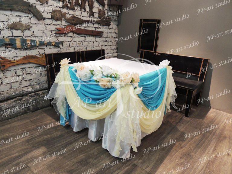 Фото 1422613 в коллекции Бирюза,ванильный и морские раковины - AP-art studio - свадебный декор и аксессуары