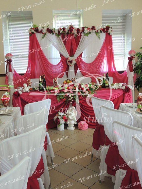 Фото 1422723 в коллекции Королевский бордо и розовый - AP-art studio - свадебный декор и аксессуары