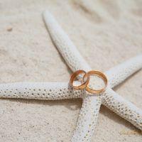 Морская звезда в качестве подставки для колец