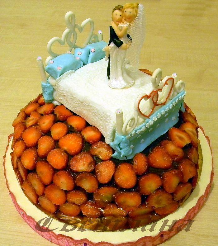 """Фото 1378985 в коллекции Свадебный торт - Авторские торты """"ТортКаприз"""""""