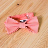 Галстук-бабочка насыщенного персикового цвета. Стоимость 790р.  Чтобы заказать пишите в л.с.  или по т. +7 950 038 54 26