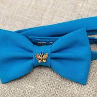 Голубая бабочка с подвеской в виде бабочки. Стоимость бабочки - 790р. Чтобы заказать пишите в л.с.  или по т. +7 952 216 48 01