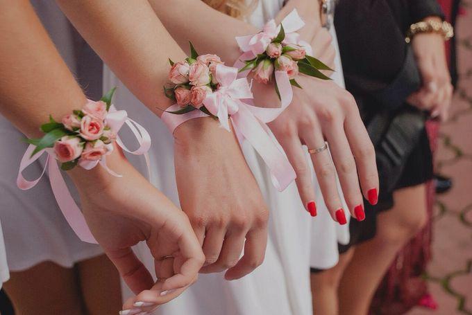 Браслеты на руки подружкам невесты своими руками