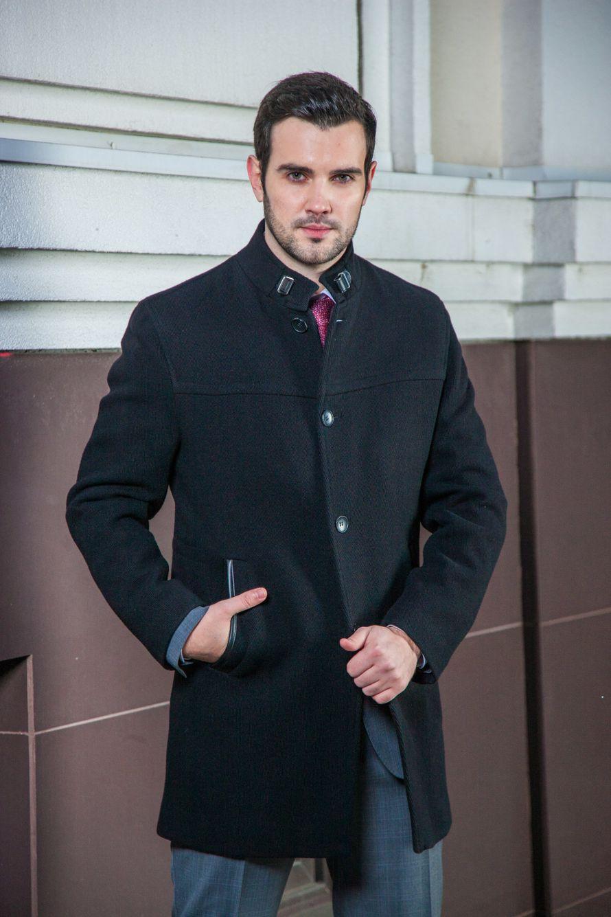 716fedb3f41 Элегантное пальто бренда Slava Zaitsev прямого кроя. Cостав  80% - шерсть и  20