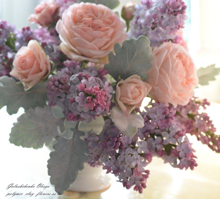 Цветы из полимерной глины - фото 13009496 Олеся Галущенко - свадебные аксессуары