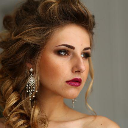 Репетиция свадебного образа - причёска и макияж