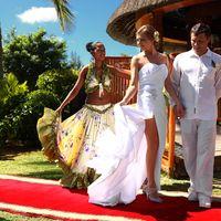 Свадебная церемония на острове Маврикий, фотограф Андрей Контра
