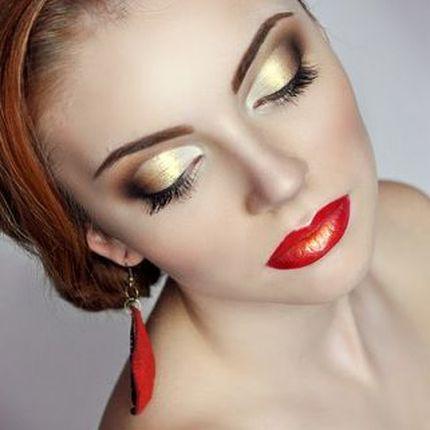 Вечерний макияж для гостей
