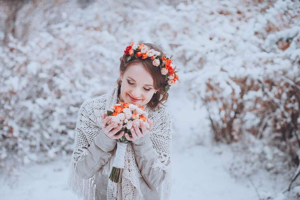 пример простой зимней фотосессии