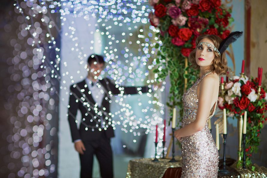 Love Story в стиле Гетсби - фото 5673427 Фотограф Евгения Мотасова