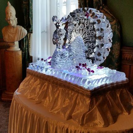 """Ледяная скульптура """"Свадебная"""""""