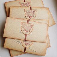 Приглашение для рыцарской или средневековой свадьбы