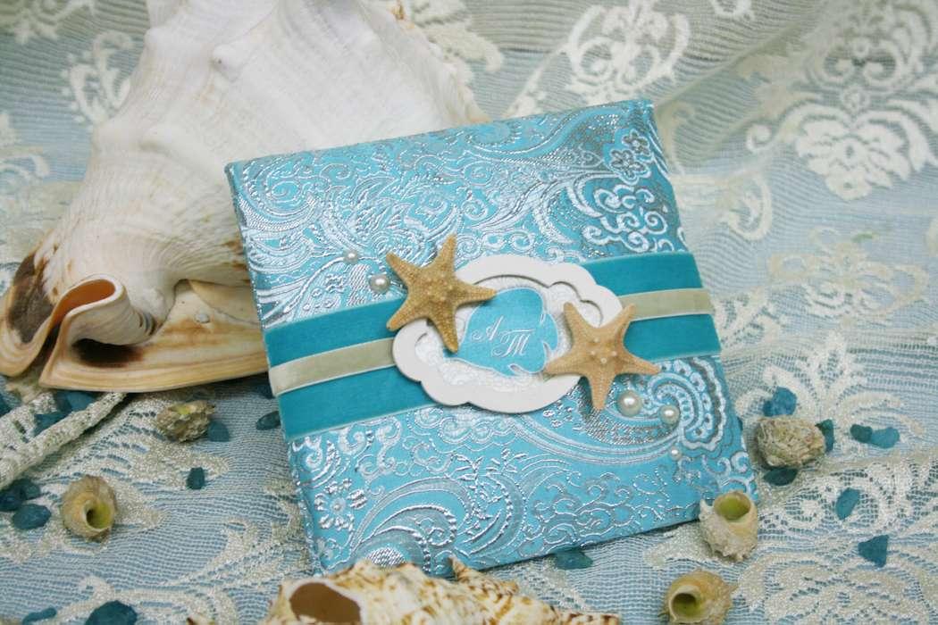 Днем, морской стиль открыток на свадьбу