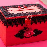 """Свадебный прием в стиле """"Чикаго"""" коробка для денежных подарков"""