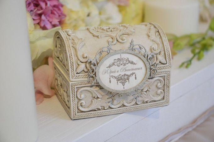 Свадебная шкатулка для колец