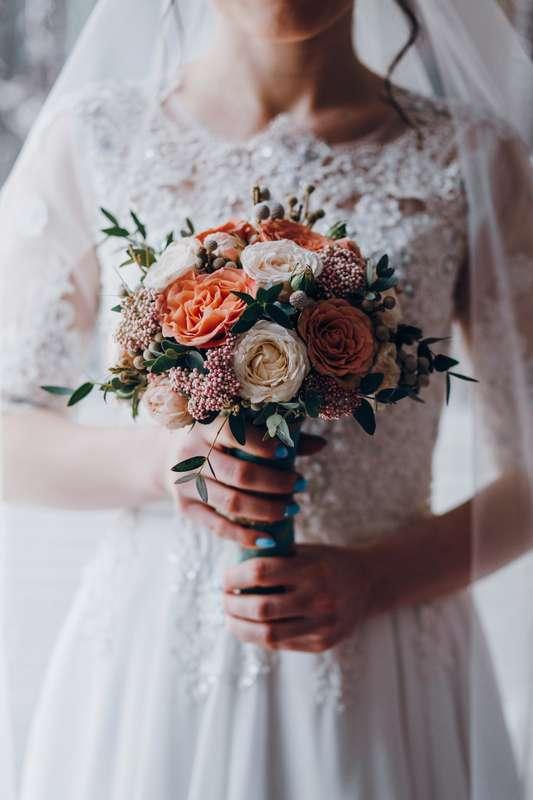 Букет невесты Анжелики - фото 17092150 Цветочка - студия флористики