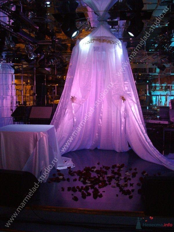 """Фото 25767 в коллекции Оформление свадьбы тканями - Студия праздника """"Мармелад"""""""