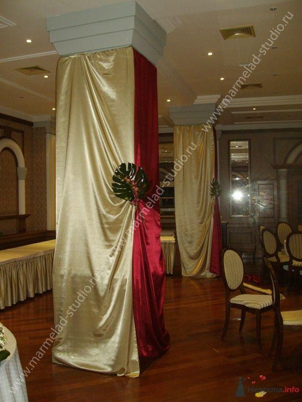 Фото 25796 в коллекции Оформление свадьбы тканями