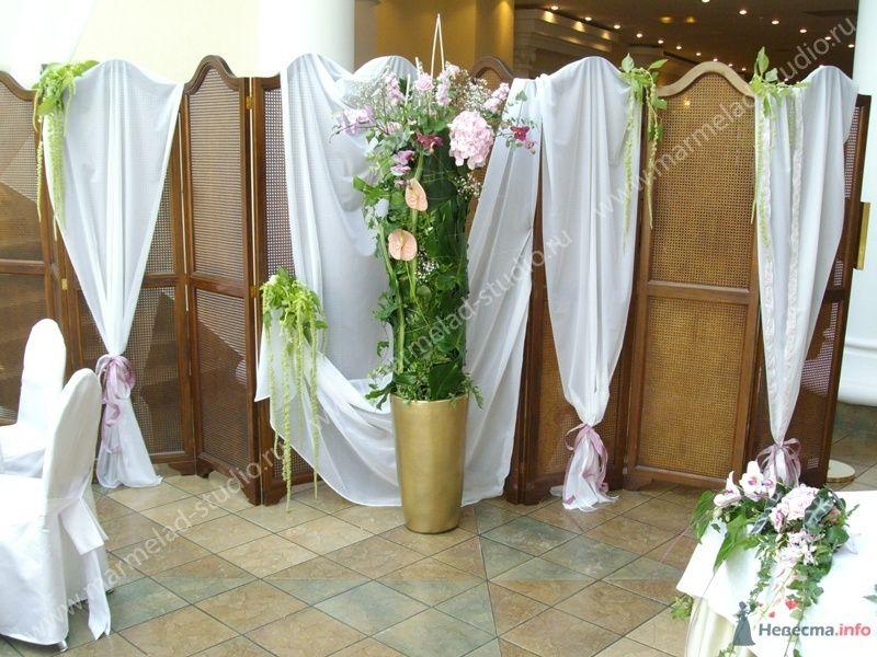 """Фото 25799 в коллекции Оформление свадьбы тканями - Студия праздника """"Мармелад"""""""
