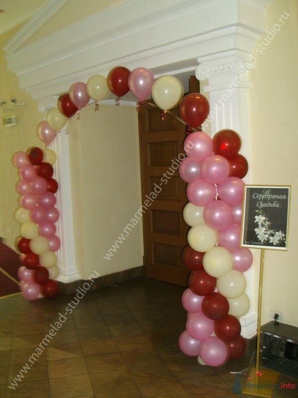 """Фото 26228 в коллекции Оформление свадьбы воздушными шарами - Студия праздника """"Мармелад"""""""