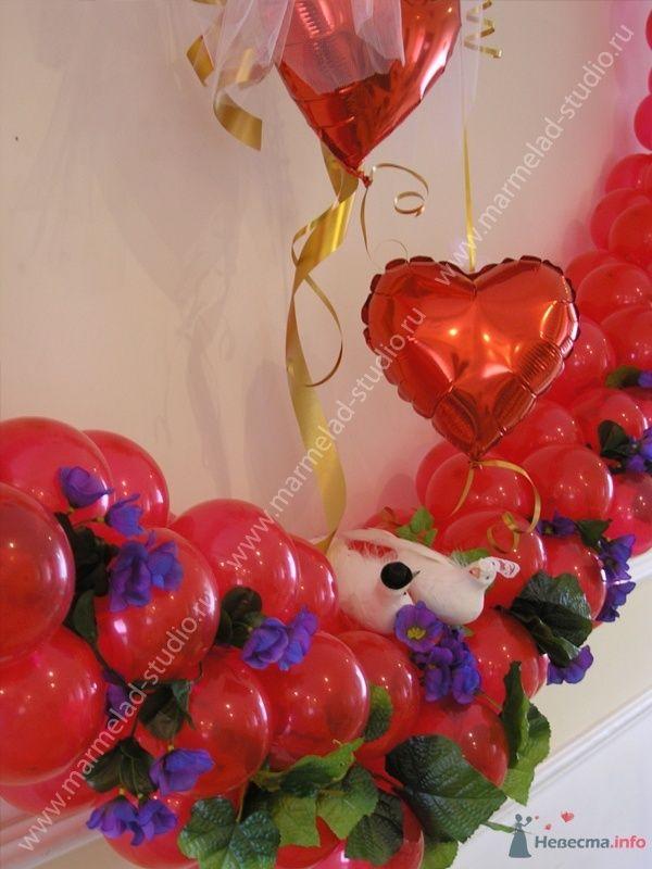 Фото 26245 в коллекции Оформление свадьбы воздушными шарами