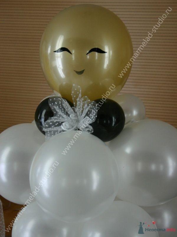 Фото 26263 в коллекции Оформление свадьбы воздушными шарами
